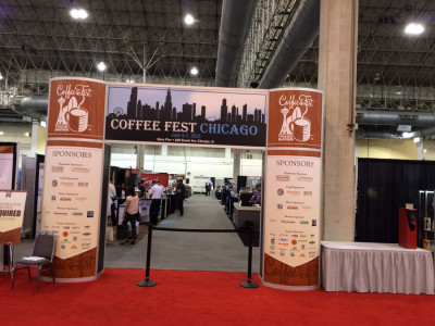 Coffee Fest at the Navy Pier in Chicago