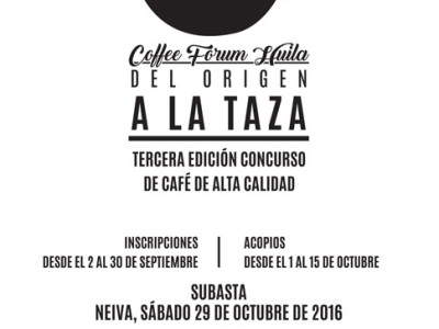 Wolthers Douqué invites you to the 3rd Edition of our Mild Coffee Company – Huila Micro Lot Selection and Auction!
